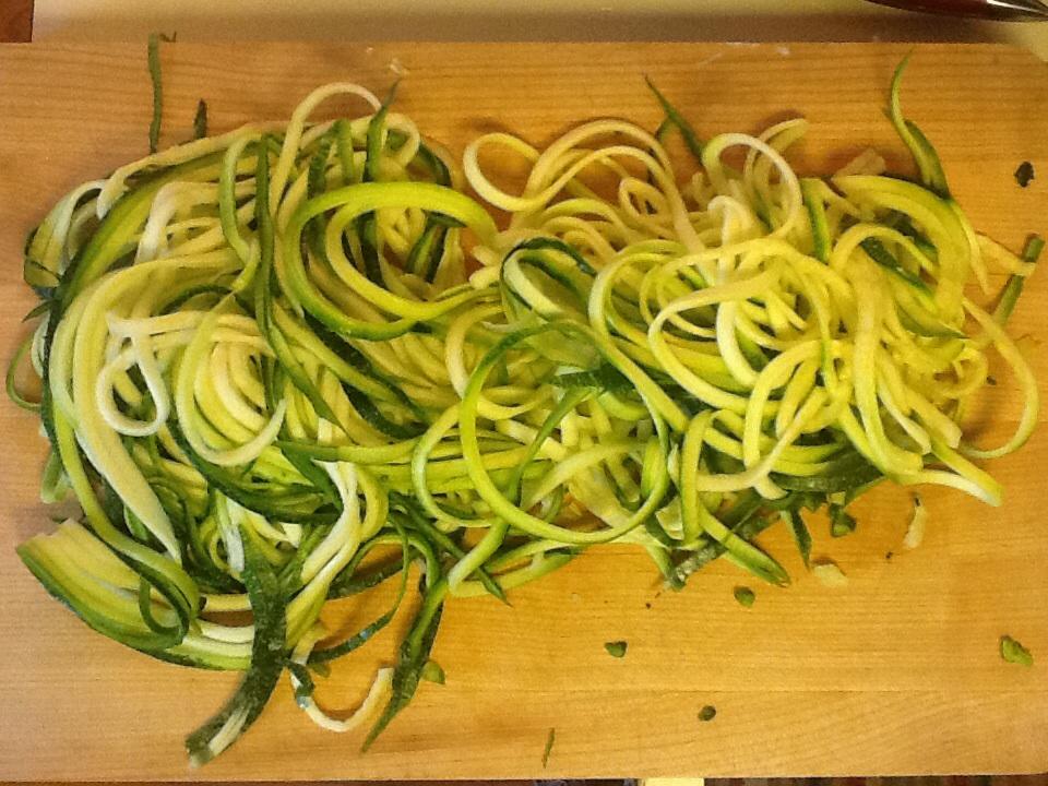 Zucchini Spaghetti (3/4)